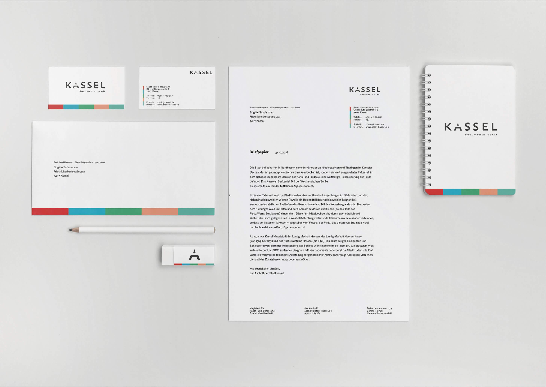 Kassel neues Logo Corporate Design Stadt Kassel Milan Soremski Soremski Design, Fotografie und Film