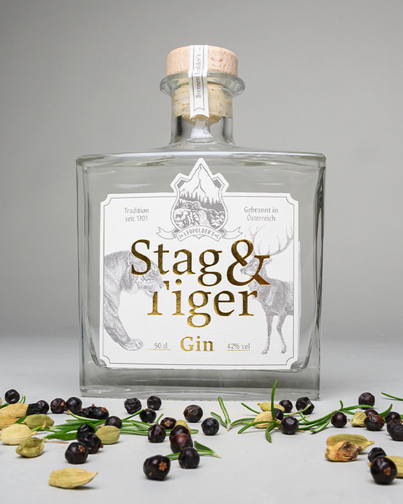 Stag & Tiger Gin